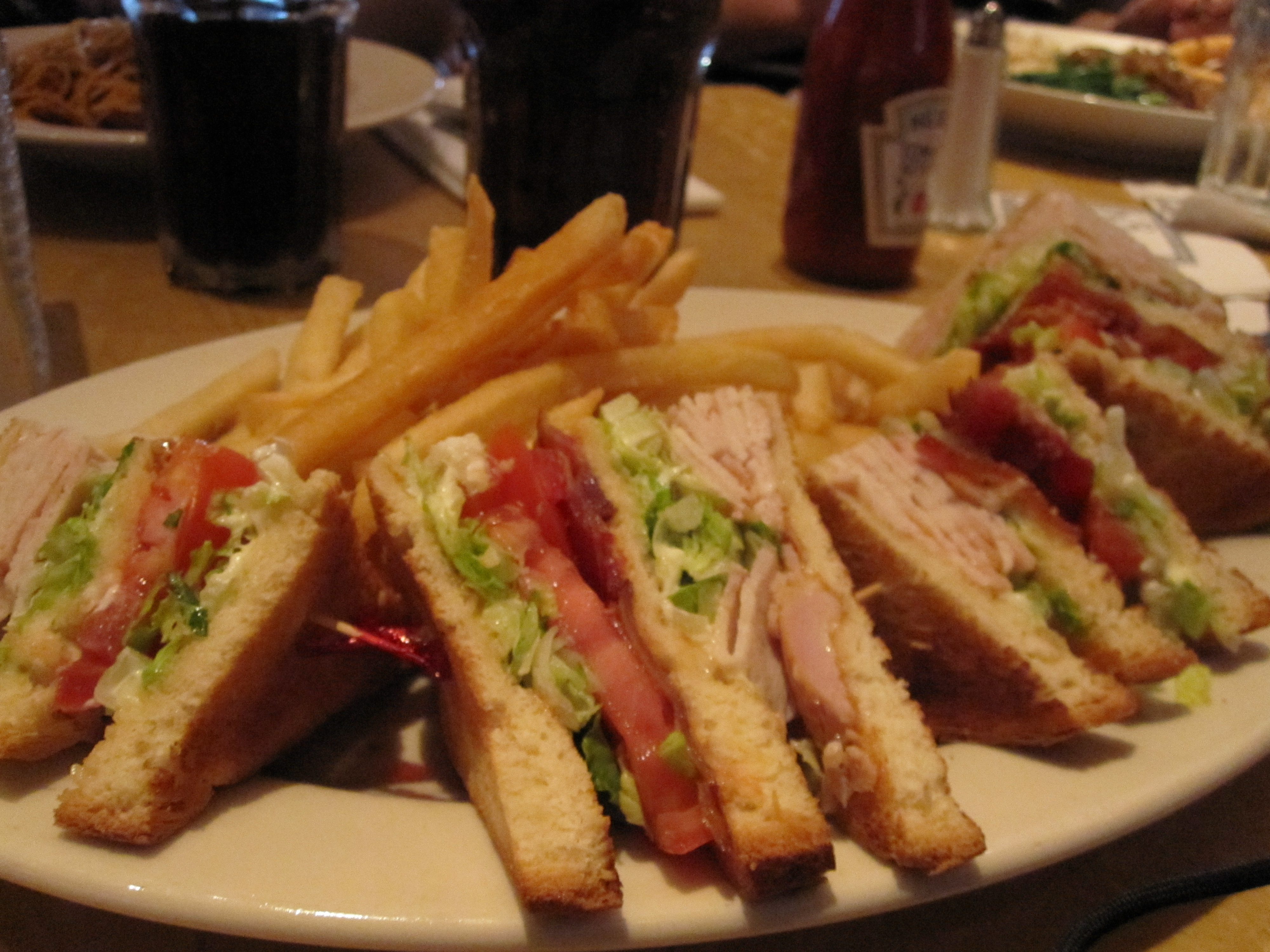 turkey turkey club sandwich salad turkey club for a good club sandwich ...