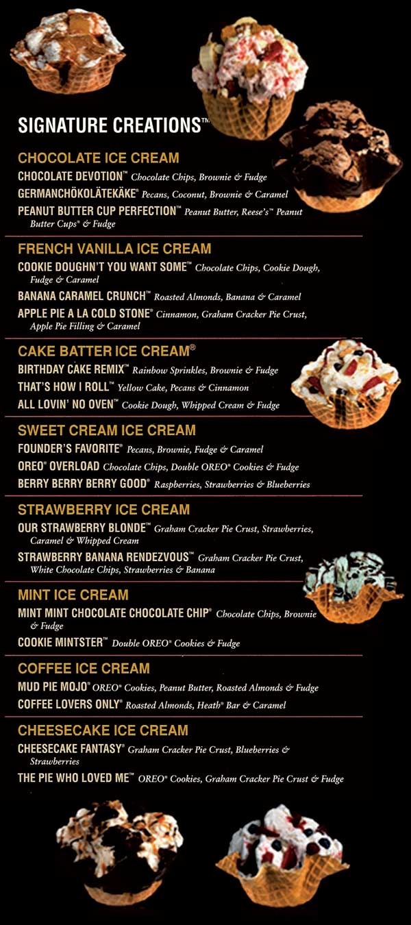 Cold Stone Cake Nutrition Facts
